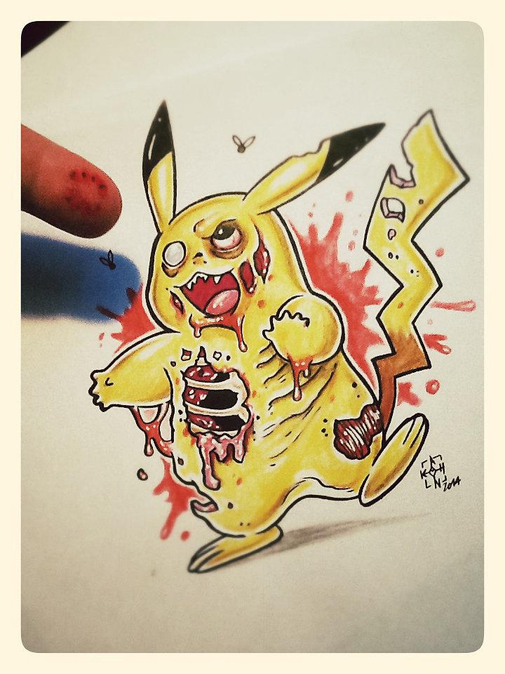 Zombi Pikachu