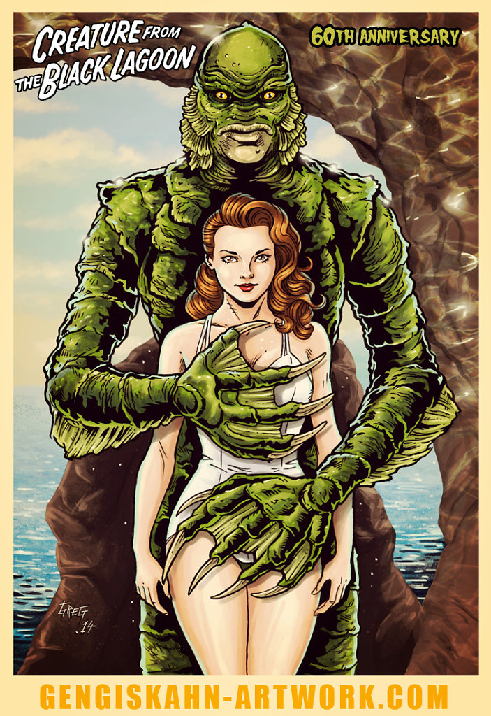 Creature from the black lagoon - 60th anniversary