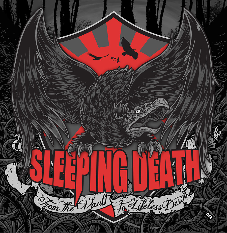 Sleeping Death - from the vault to lifeless desert (hardcore-2014)