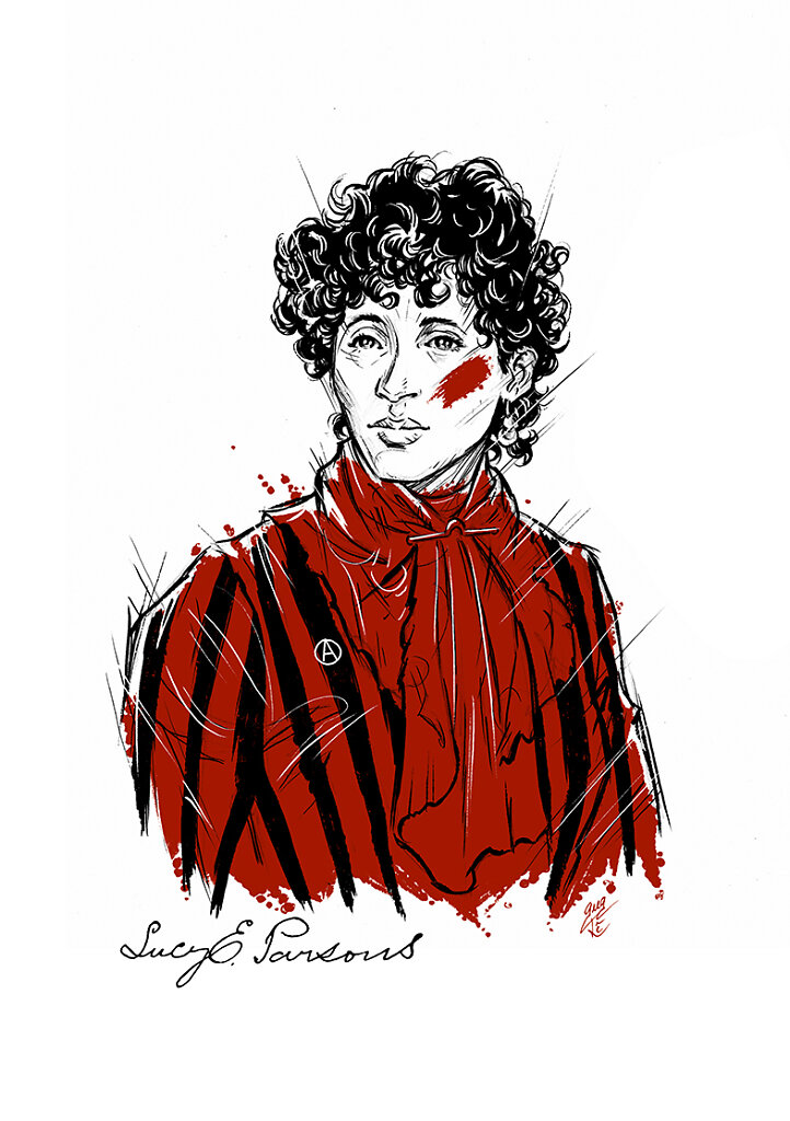 Lucy Parsons (1851-1942)