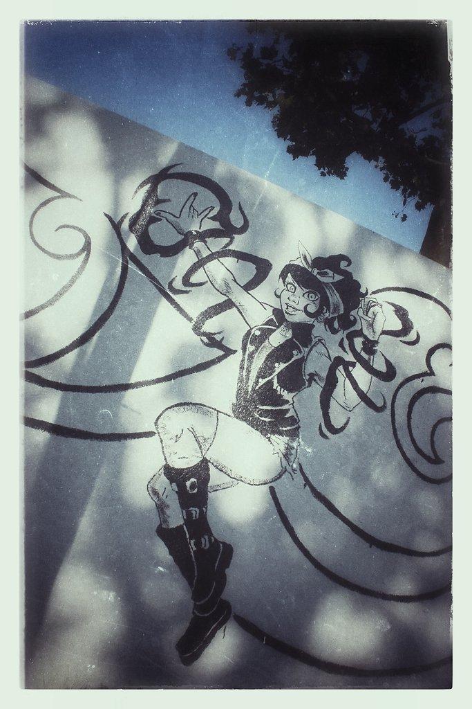 Fresque Jeanne Dark 02